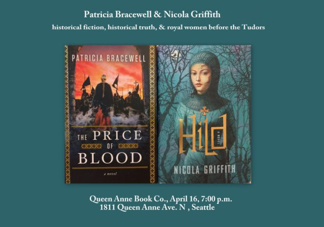 Nicola Griffith and Patricia Bracewell in conversation at Queen Anne Books