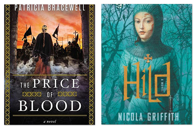 book covers of PRICE OF BLOOD and HILD