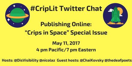 #CripLit Crips in Space