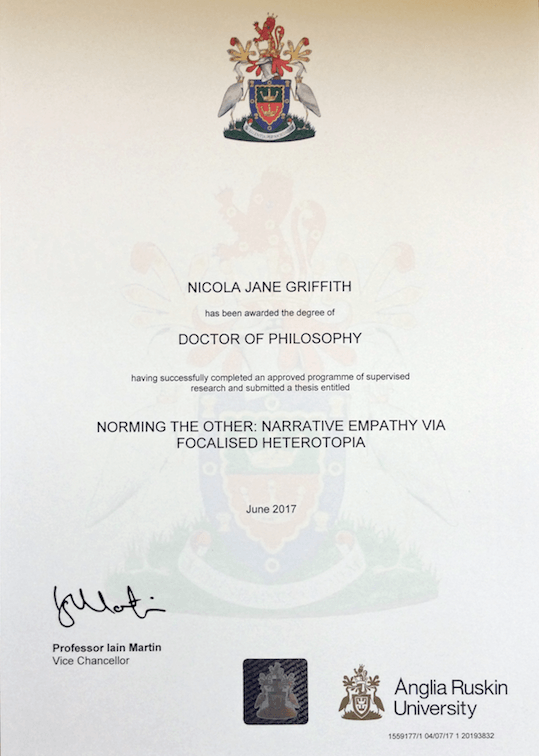 Picture of official document